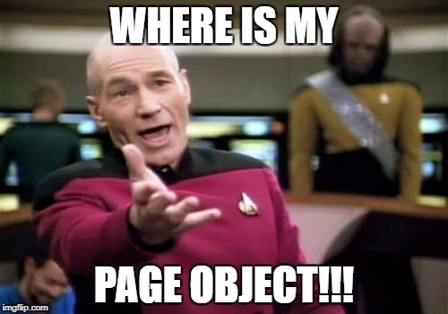 Where is my page?